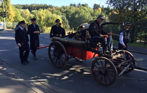 Alte Pumpe Der Feuerwehr Hahn