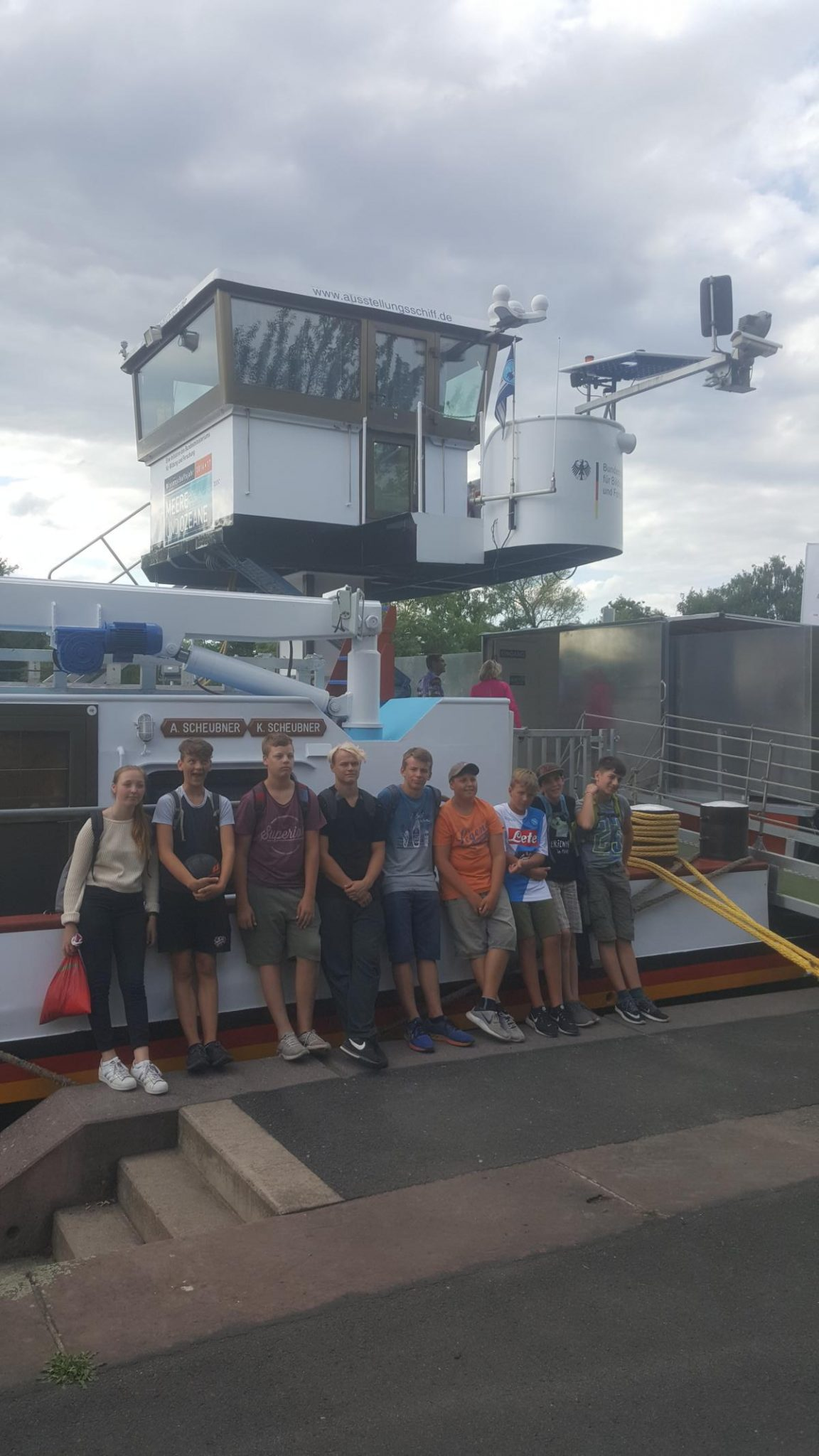 Zeltlager 2017 - Forschungsschiff