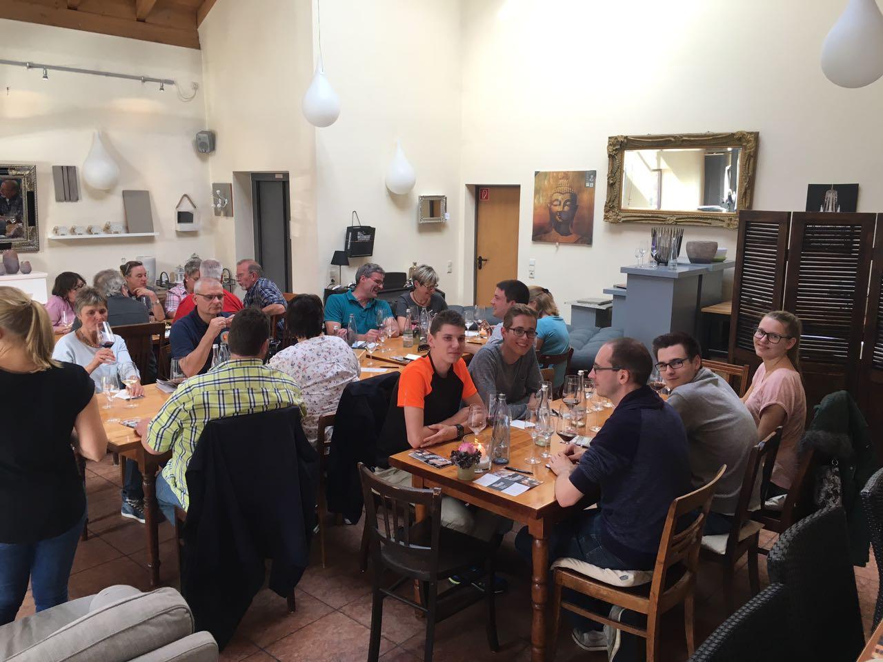 Vereinsausflug - Weinprobe