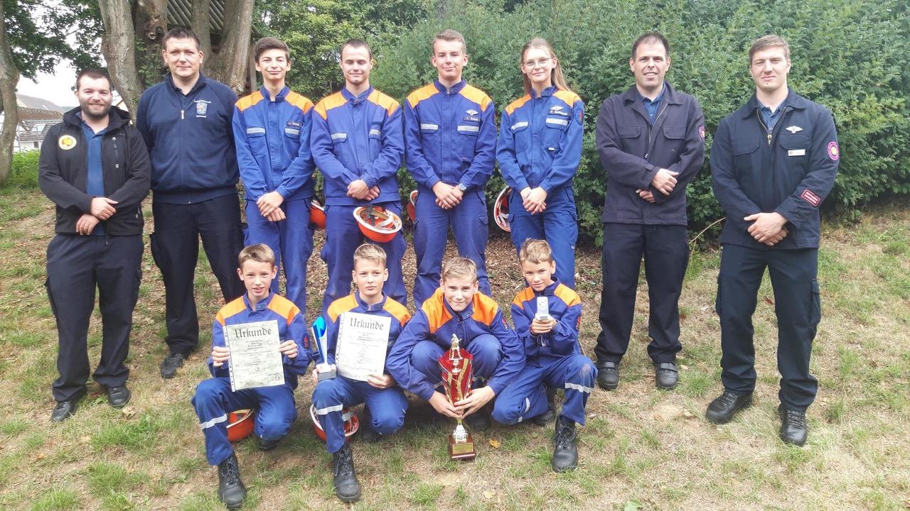 Jugendfeuerwehr Beim Stadtwettbewerb